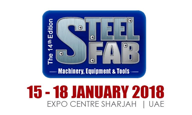 STEELFAB FUARI Stand No:1625 Hall 3, Expo Centre Sharjah / UAE, Ocak 15th – 18th, 2018